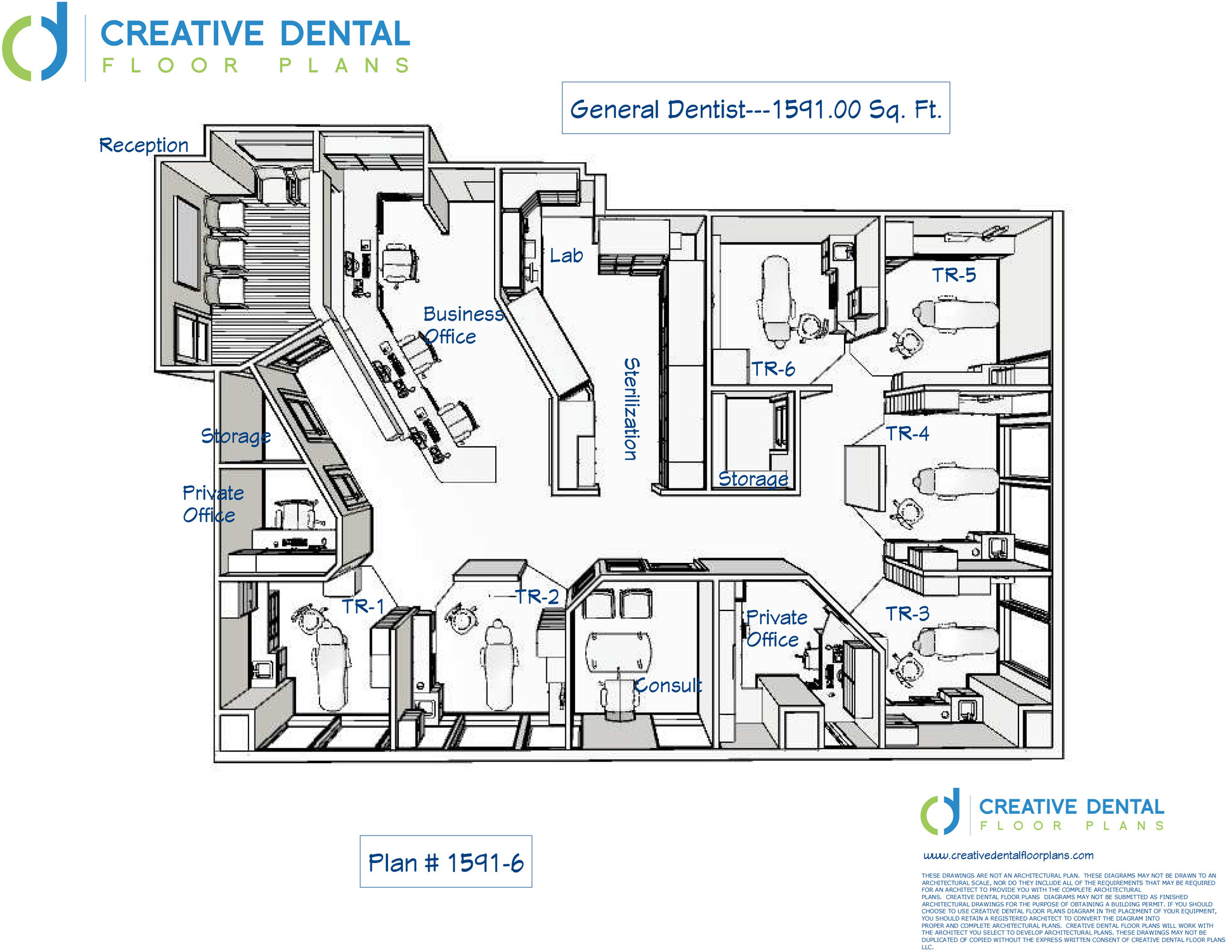 Creative Dental Floor Plans Strip Mall