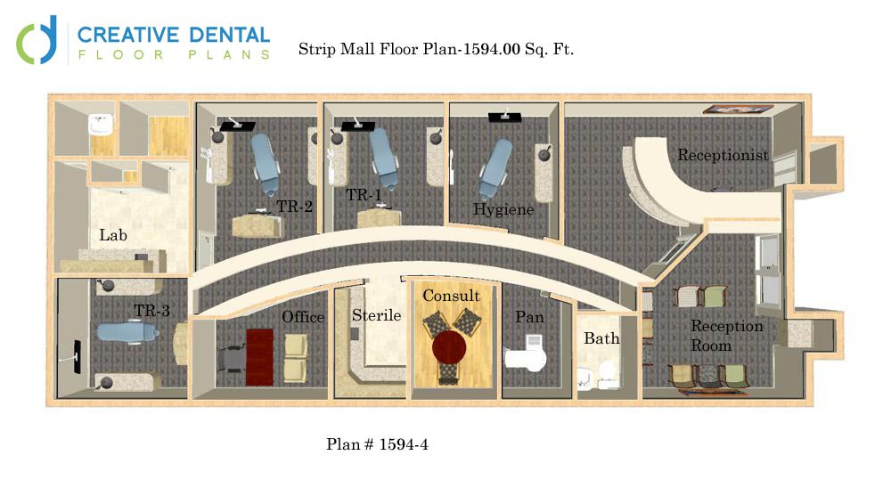 Creative dental floor plans general dentist floor plans for Office layout plan design