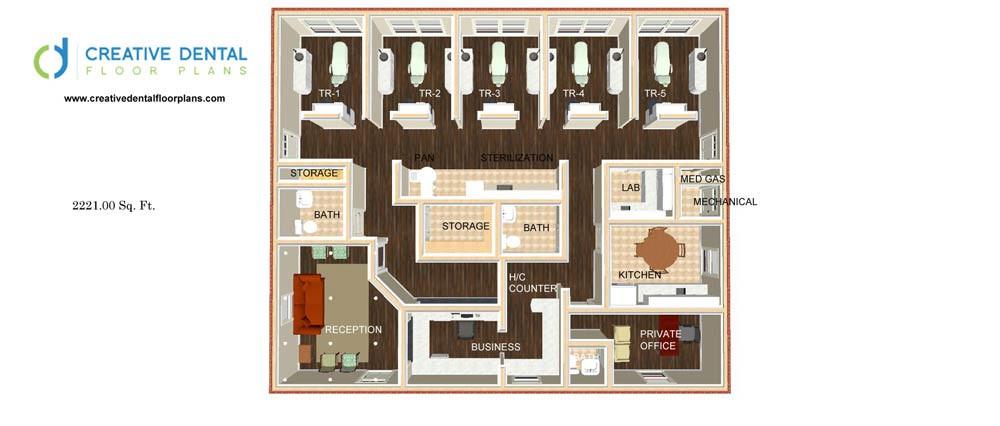 Dental Clinic Floor Plans Thefloors Co