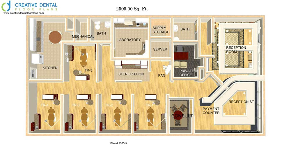 Creative dental floor plans strip mall floor plans for Orthodontic office design floor plan