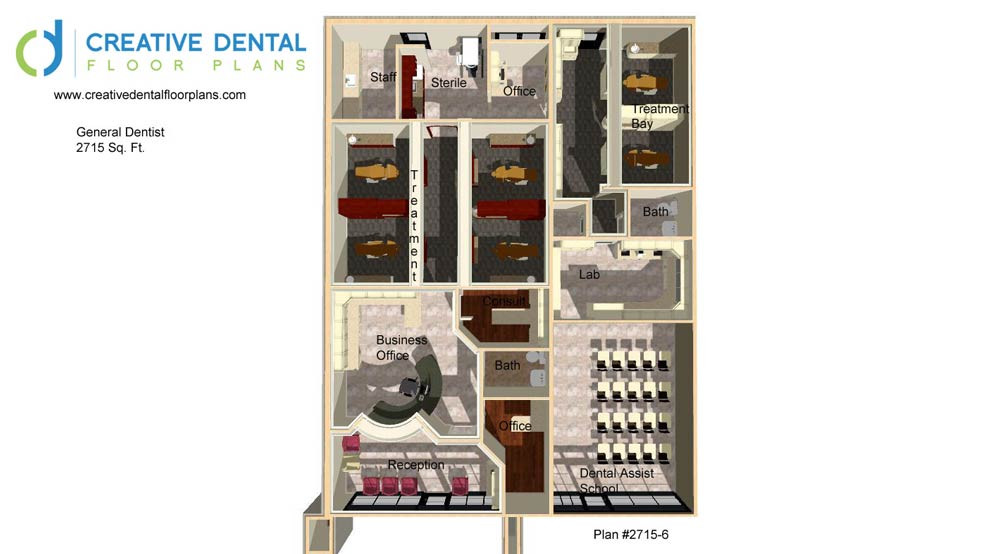 Creative Office Floor Plans: Creative Dental Floor Plans