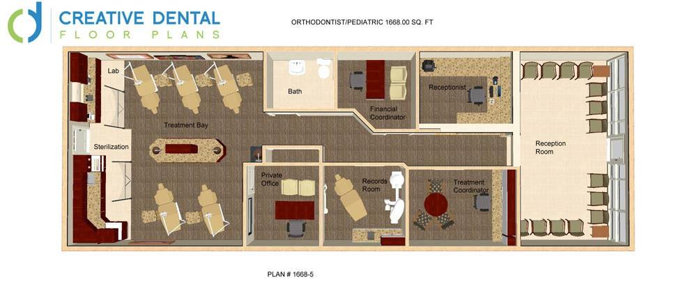 Creative Dental Floor Plans Pediatric Floor Plans